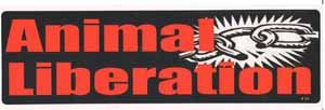 Animal Liberation Bumper Sticker